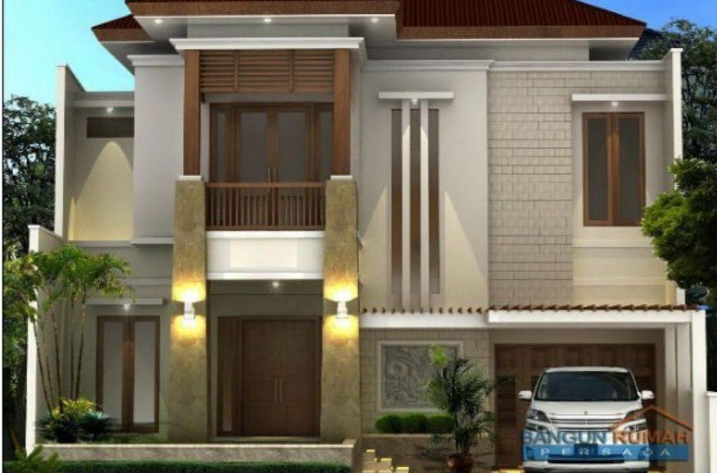 Desain Rumah 2 Lantai Di Lahan 12 x 17 M2