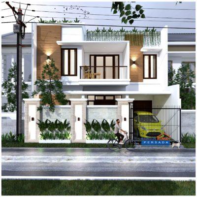 Desain Rumah 2 Lantai di Lahan 10,25 x 12,3 M2 | DR – 10514
