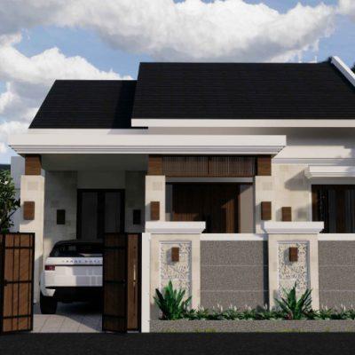 Desain Rumah 1 Lantai di Lahan 11,5 x 13,7 M2   DR – 1113